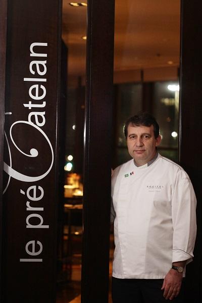 chef do restaurante, Roland Villard