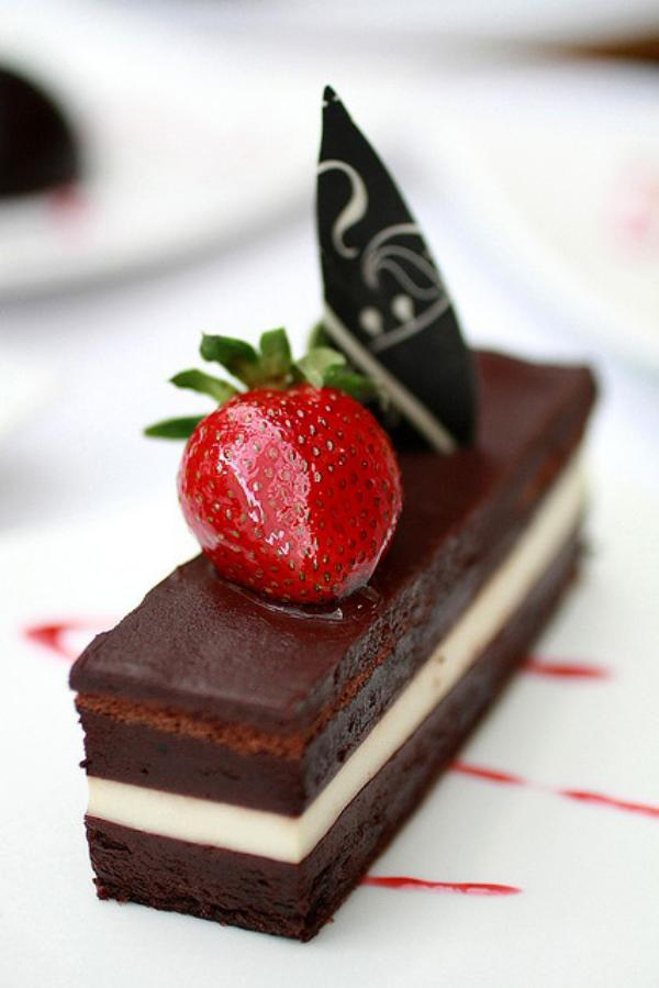 chocolate terrine whit coconut mousse. Nectarie le Dessert Patisserie #desserts #sweets