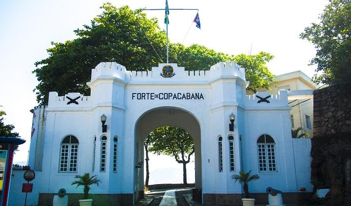 Forte de Copacabana (RJ) foi palco de momentos históricos. Crédito: MHEx/FC