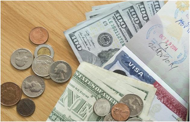 dinheiro dólar euro