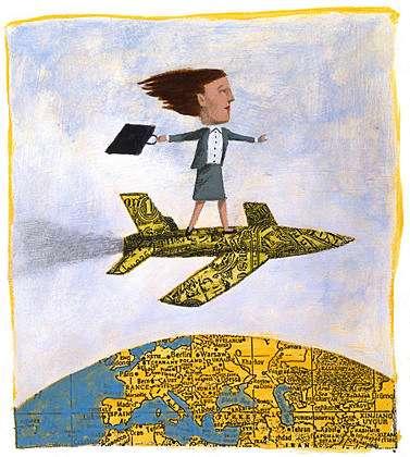Educação na hora de voar