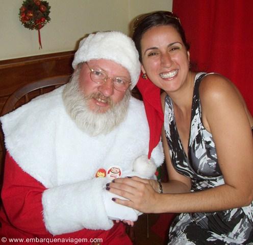 Eu tenho que agarrar o Papai Noel