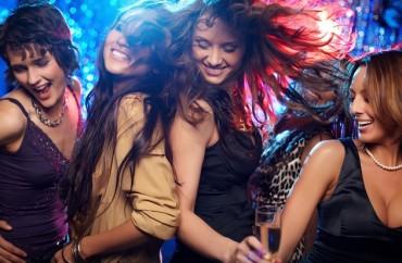 mulheres, festa, dança