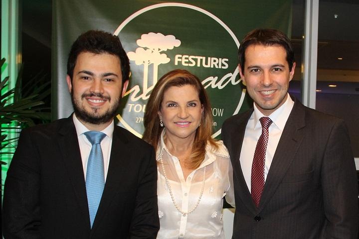 Marcus Rossi, Marta Rossi e Eduardo Zorzanello.