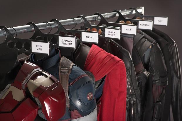 guarda-roupas dos Vingadores