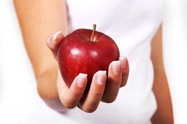 lanche maçã