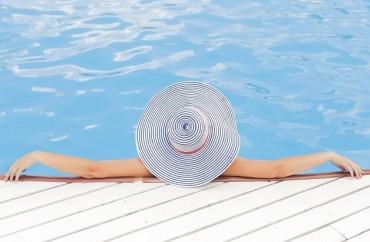 luxo piscina