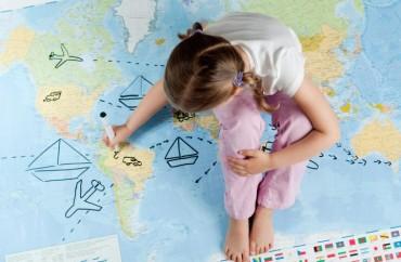 mapa-del-mundo-niña