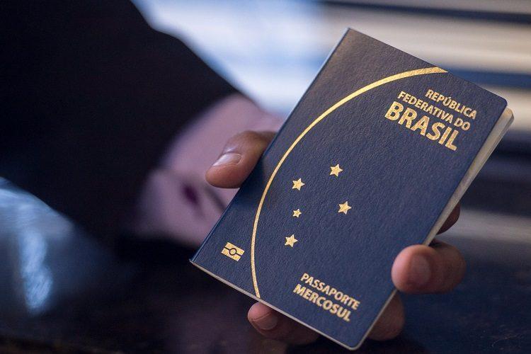 passaporte com QR Code