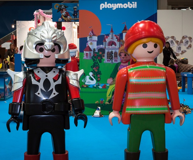 Playmobil stand at G! come giocare in Milan, Italy