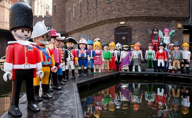 Playmobil Parede na Inglaterra