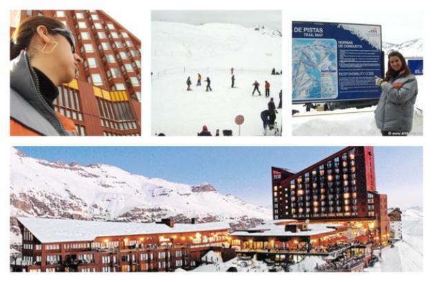Valle Nevado inverno