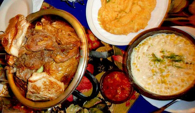restaurante El Huaso Enrique - comida