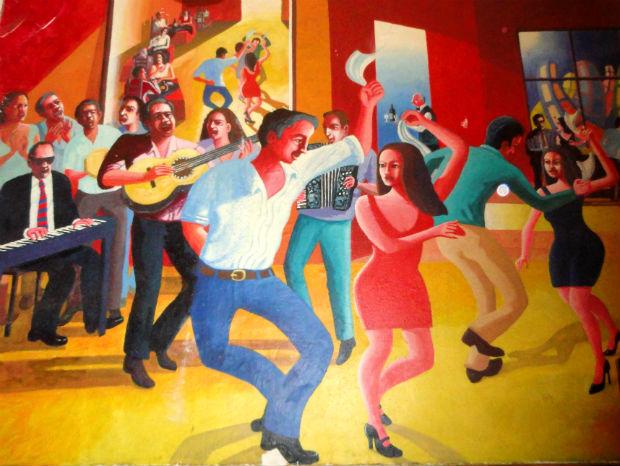 restaurante El Huaso Enrique - quadro