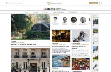 revista online da Relais & Chateaux