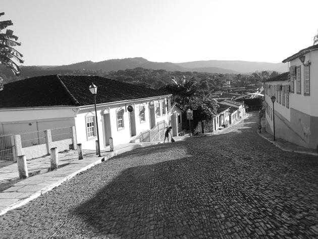 ruas de pedra de Pirenópolis