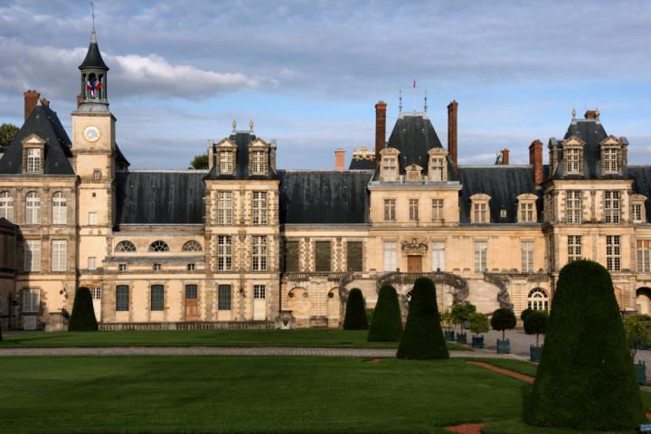 Castelo de Fontainebleau - Foto shutterstock