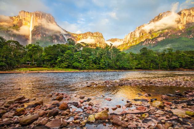 Salto Angel - Venezuela - Foto shutterstock