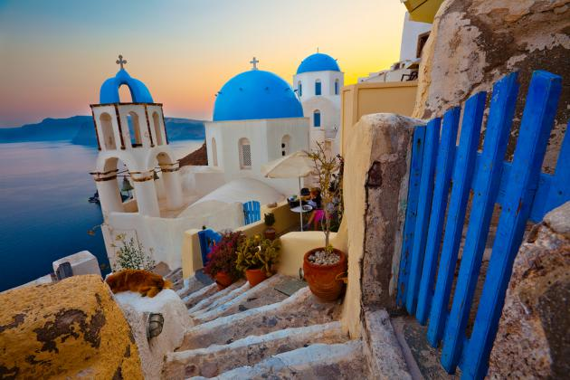 Santorini: o Jardim do Éden na Grécia