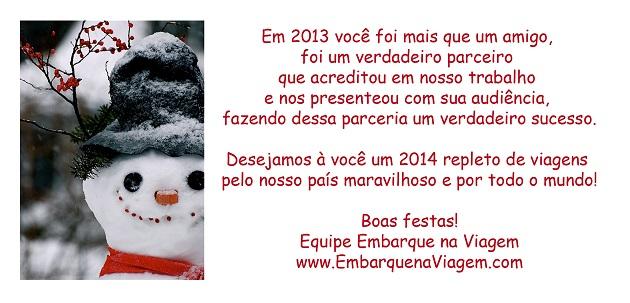 snow - boas festas 2013