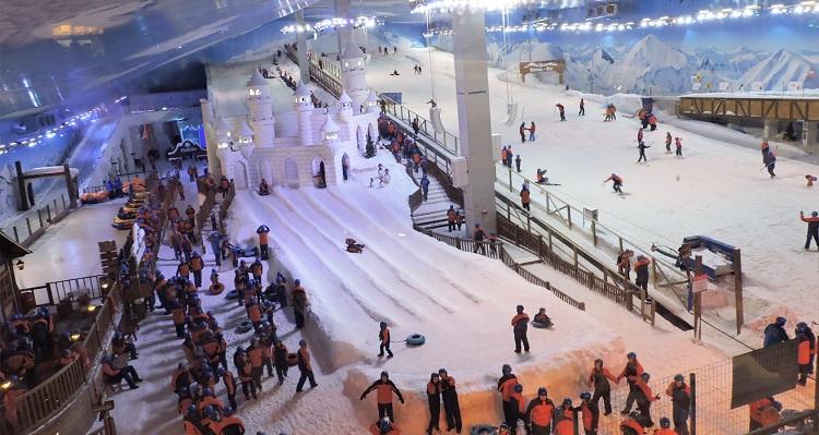Snowland vai premiar visitantes com viagem internacional 3
