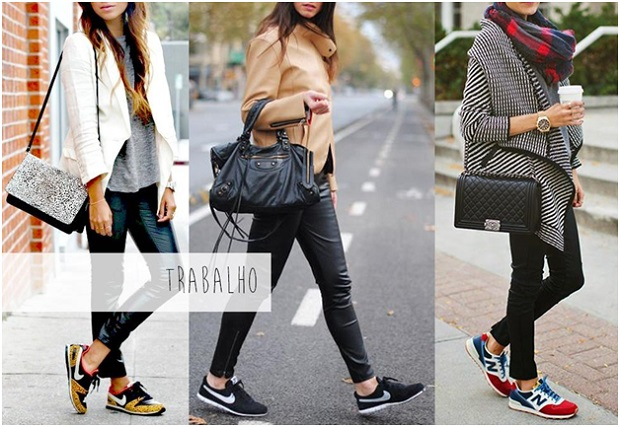 be404f885 Linda com conforto: três looks incríveis usando tênis!Embarque na Viagem