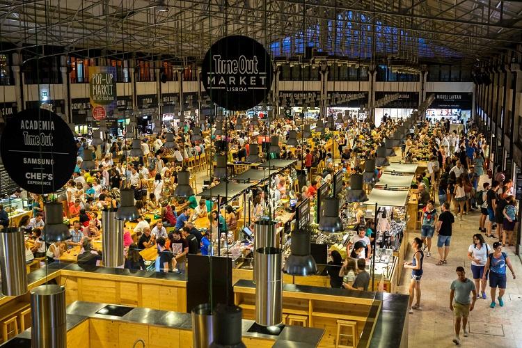 Mercado da Ribeira de Lisboa - o encontro da modernidade 4a6189bbba864