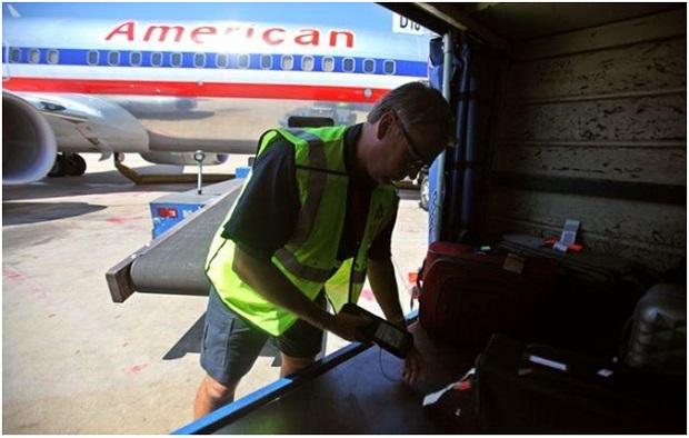 Transporte de bagagem. Foto: Pinterest