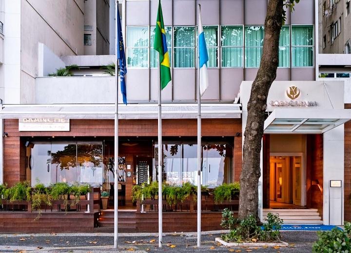 tulip inn copacabana entrada e branche